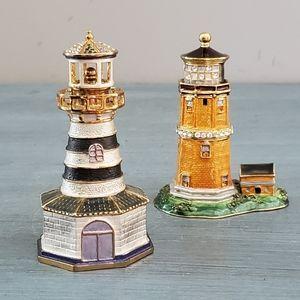 Zawadi Lighthouse Trinket Boxes